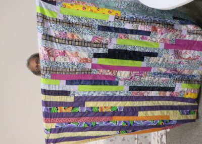 Finished Jelly Roll Quilt