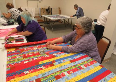Fun time with Jelly Roll Quilting