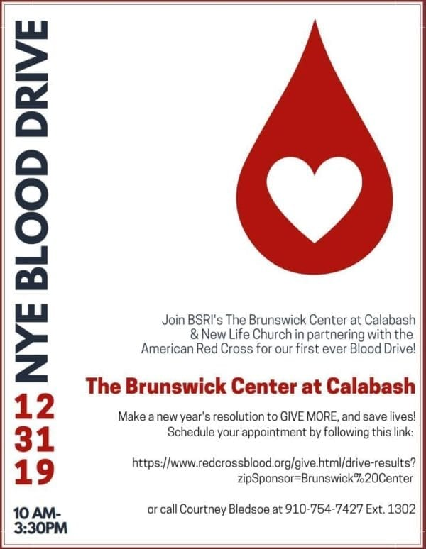 New Year's Eve Blood Drive!