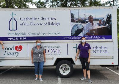 Catholic Charities Food Distribution