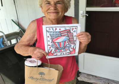 Homebound Adult Coloring Contest 2nd runner up, Miss Loy!