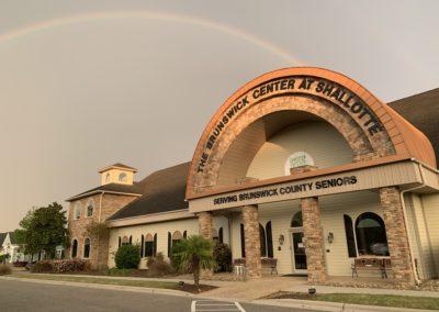 Double rainbow over the Shallotte Center